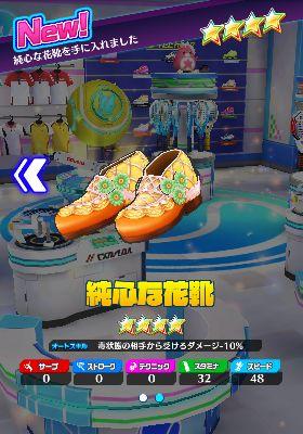 純心な花靴